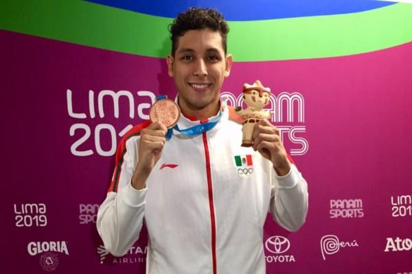 México terminó con una racha de 12 años en que no se lograba un podio en esa disciplina. Foto: Conade