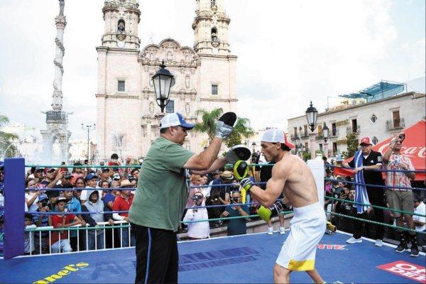 EXPECTATIVA. El Hijo de la Leyenda entrenó en San Juan de los Lagos. Foto: Especial.
