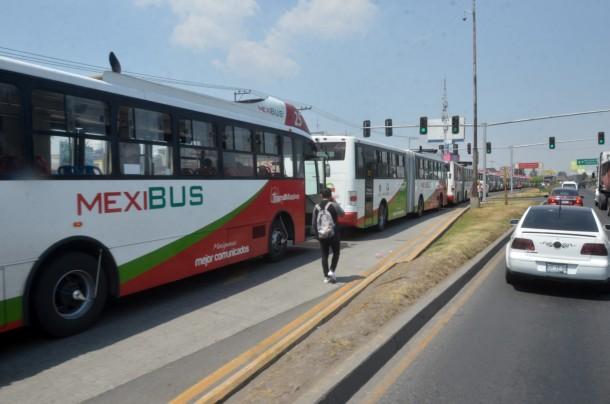 El plan de conectividad considera dos nuevas líneas de Mexibús y una ruta con el Tren México-Toluca.Foto: Cuartoscuro