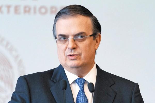 Marcelo Ebrard, secretario de Relaciones Exteriores. Foto: Cuartoscuro