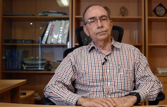 Rolando Valle Favela, durante una entrevista en Youtube. FOTO: Especial.