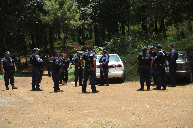 Cuerpos de seguridad en Michoacán. FOTO: Cuartoscuro.