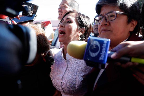 SEMANAL. La ex secretaria de Estado dio en garantía 100 mil pesos y deberá firmar cada lunes. Foto: CUARTOSCURO