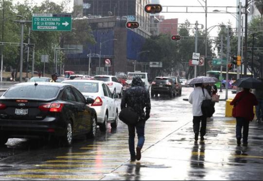 Lluvia en la CDMX y más estados de la República. Foto: Especial.