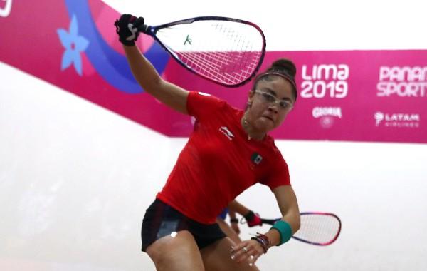 SUPERIOR. Paola Longoria conquistó su noveno oro en Juegos Panamericanos. Foto: REUTERS