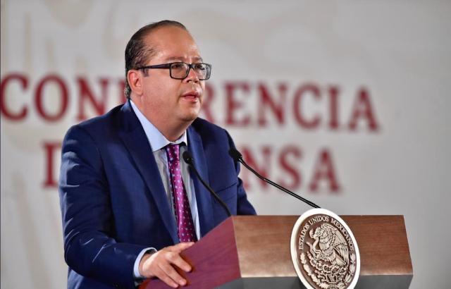Carlos Bremer durante una conferencia de prensa. FOTO: Especial.