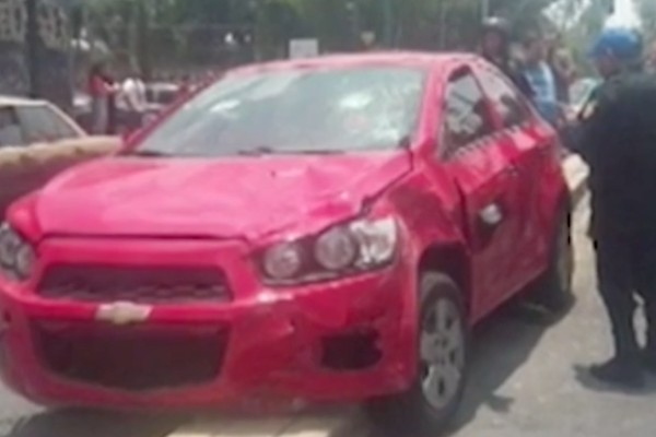 Repartidor pierna tras ser atropellado en Coyoacán