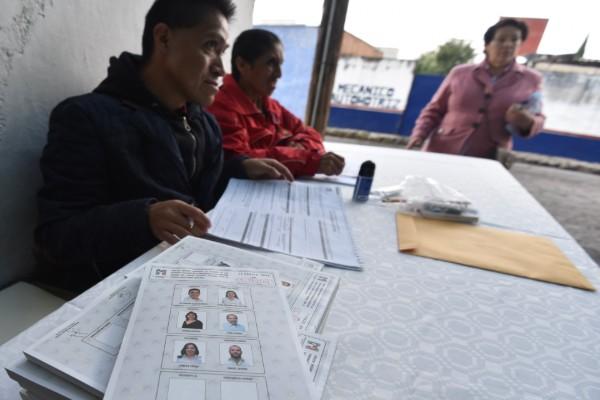 Menos de la mitad de los militantes del PRI en Hidalgo salieron a votar