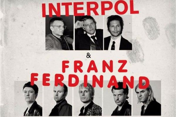 La pequeña gira de Interpol y Franz Ferdinand será en Guadalajara y Monterrey, acompañados de la banda Georgia. Foto: Twitter