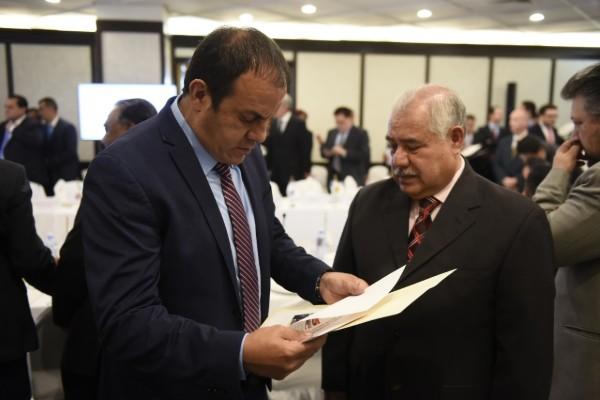 Cuauhtémoc Balnco acude a reunión entre Conago y Fiscalía