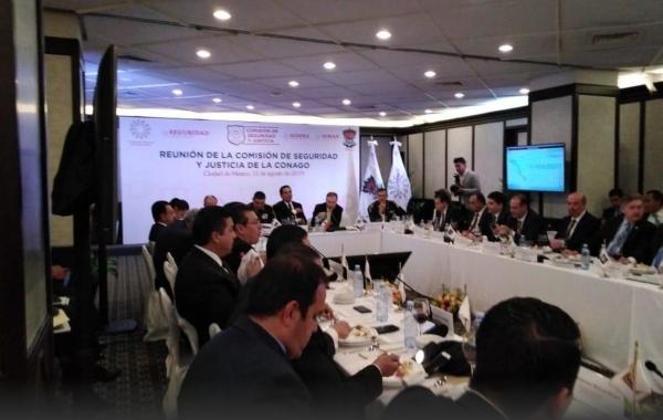 El objetivo, según estimó, es alcanzar un monto de 42 mil millones de pesos para la mejora de las policías. Foto Especial