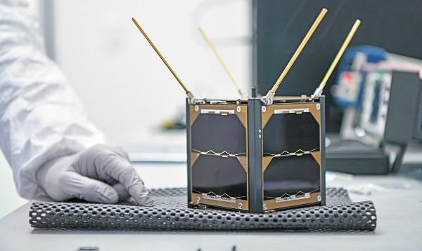 AztechSat-1 ya está listo para enviarse al espacio en octubre para comenzar operaciones en enero de 2020. Foto: Especial