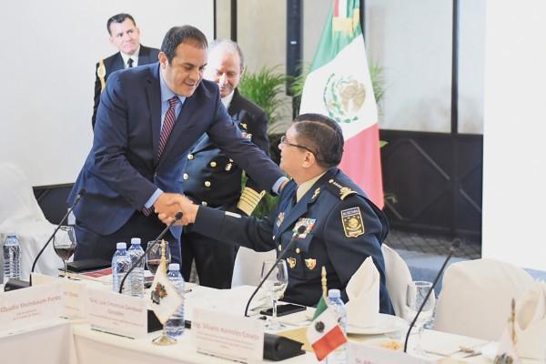 El Gobernador de Morelos, Cuauhtémoc Blanco, aseguró que restituir la paz social en la entidad es prioridad. Foto: Especial