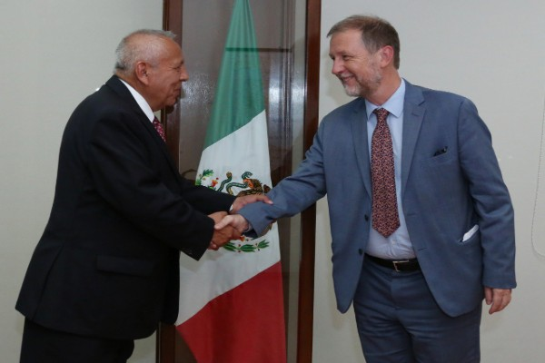 INM y ONU tratan temas migratorios