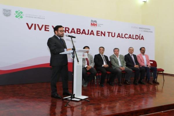 Mediante un convenio se crearán más empleos en la Miguel Hidalgo