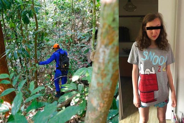 El cuerpo desnudo de la adolescente, de 15 años, que padecía discapacidad mental y física, fue hallado junto a un arroyo a 2.5 kilómetros del resort ecológico donde se hospeda junto con su familia. FOTO: AP