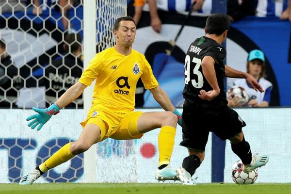 Marchesín disputó los 90 minutos del partido. Foto: Especial.