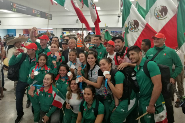 Los atletas mexicanos sumaron más de 130 medallas. Foto: Especial.