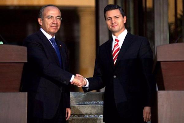 Fundar señala a los expresidentes Calderón y Peña de haber condonado impuestos.  Foto: Especial