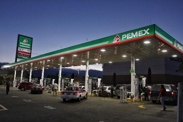 Gasolinería de Petróleos Mexicanos