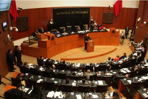 Los integrantes de la bancada votarán de 9:00 a 12:00 horas en el Salón de Comparecencias del Senado. Foto: Especial.