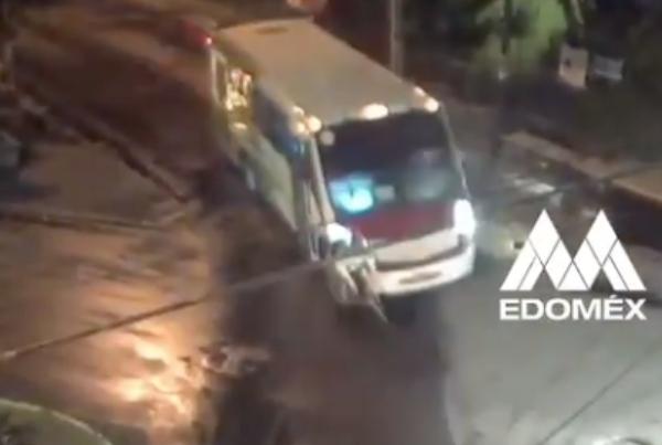 Autobús atropella a un ciclista. Foto: Especial