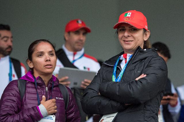 Ana Gabriela Guevara, durante un evento. FOTO: Mexsport