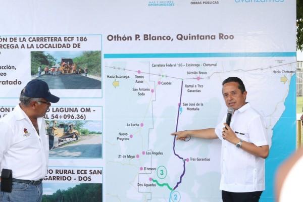 Quintana Roo invertirá en caminos