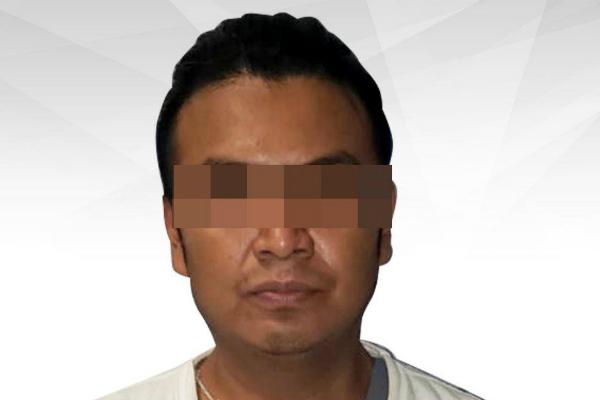 Fue detenido en el municipio de Cuautla, Morelos. Foto: Especial.
