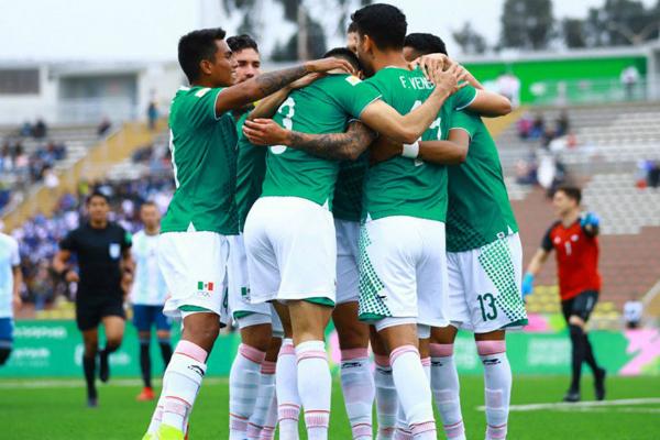 La Selección Mexicana Sub-23 obtuvo la medalla de bronce en los Juegos Panamericanos Lima 2019. Foto: Especial.