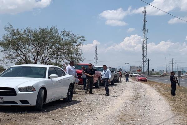 Esta mañana, peritos de las fiscalías generales de Justicia de Nuevo León y Coahuila encontraron en localidad el cuerpo del bebé raptado el pasado fin de semana en San Nicolás de los Garza. Foto: Twitter