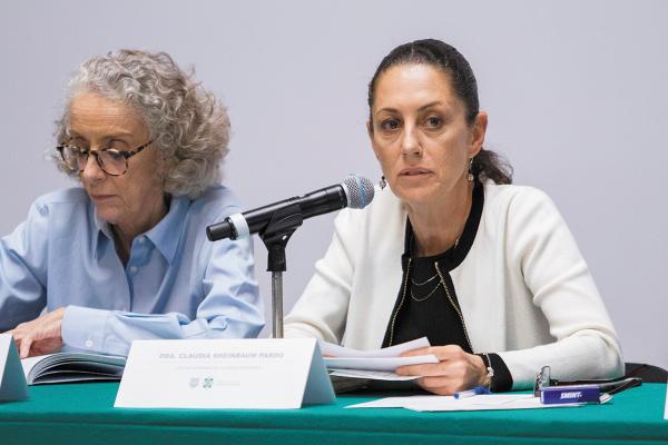 ESTUDIO. Claudia Sheinbaum dijo que cada caso de puesto de trabajo vendido será revisado. Foto: Cuartoscuro