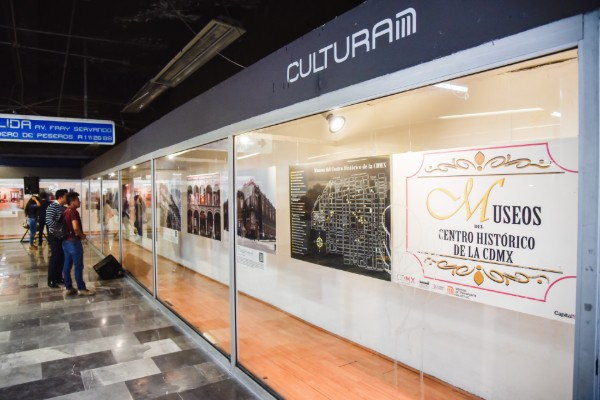 Agenda cultural del Metro
