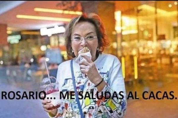Elba Esther Gordillo le manda saludos al