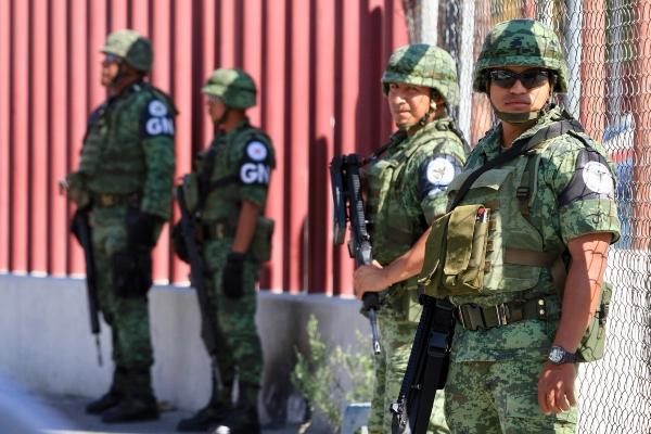 Guardia Nacional llegó al Reclusorio Oriente. Foto: Notimex