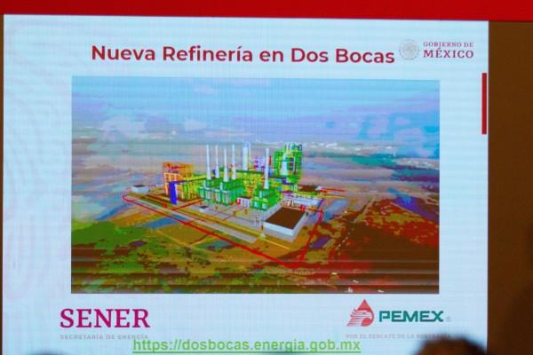 Pemex debe presentar programa de monitoreo de aguas en refinería Dos Bocas