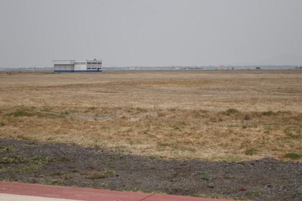 Aeropuerto de Santa Lucía dejaría si agua a Tula