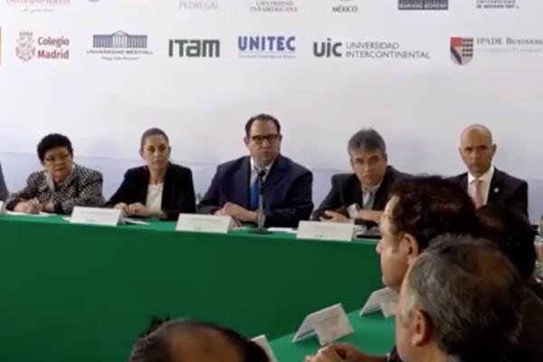Universidades firman convenio con la CDMX para proteger a estudiantes
