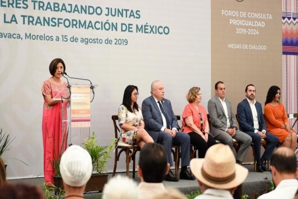 EXHORTA GOBERNADOR A CERRAR FILAS EN PRO DE LA IGUALDAD DE GÉNERO