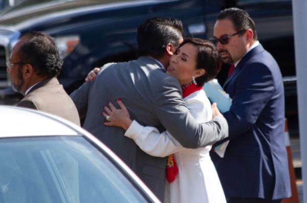 Defensa de Rosario robles busca sacarla de prisión. Foto: Cuartoscuro