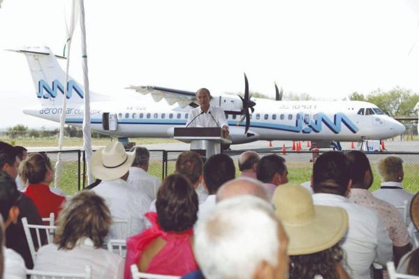 Ruta aérea Tamuín