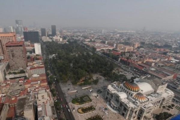 La calidad del aire en el Valle de México es regular