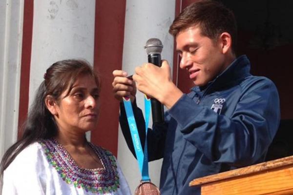 Barrondo se llevó el bronce en los 20 kilómetros de marcha en los panamericanos. Foto: Especial.