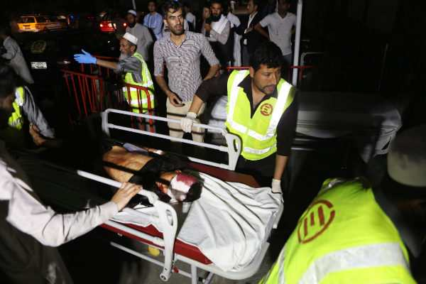 Explosión en Kabul deja 20 heridos