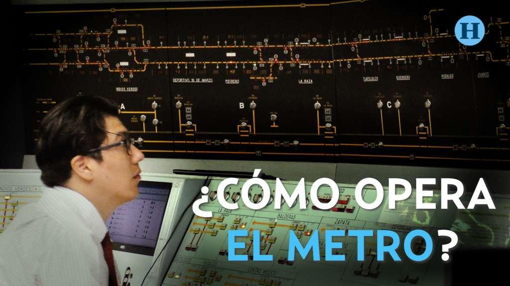 ¿Cómo opera el metro?