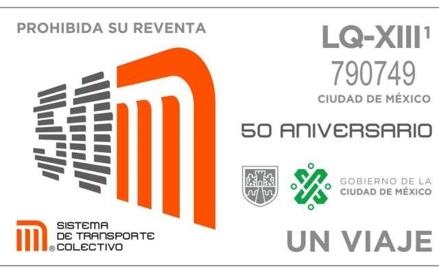 Celebran 50 años del Metro