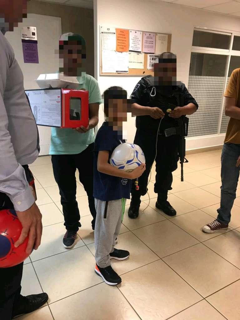 Niño inmigrante en Morelos