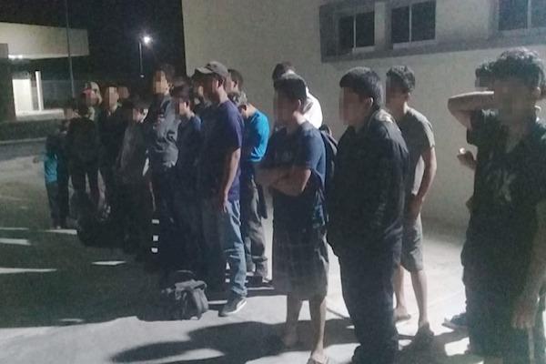 PF policia migrantes rescatados Tamaulipas