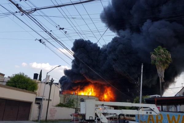 Horas después del evento aún se desconoce el origen de la explosión. Foto: Especial