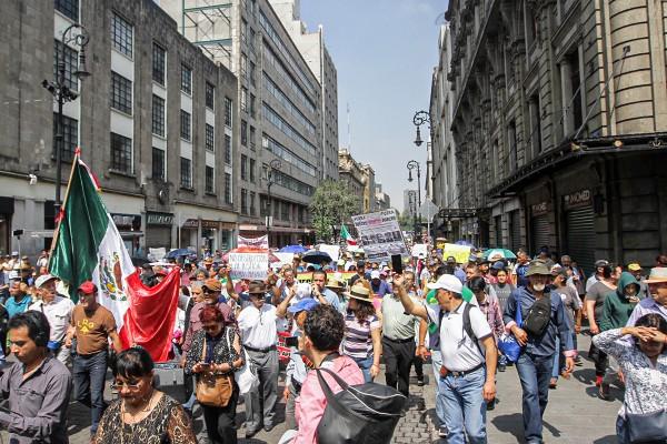 Movilizaciones de manifestantes